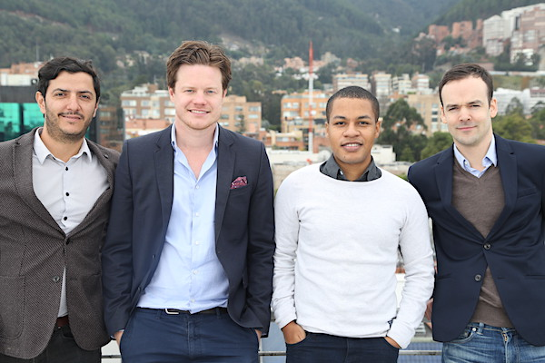 The mi.tv team in Bogotá